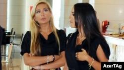 Arzu və Leyla Əliyevalar