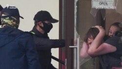 """Титушки"" Лукашенко избивают участников ""Марша единства"""