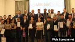 «Milli Net 2012»nin qalibləri.