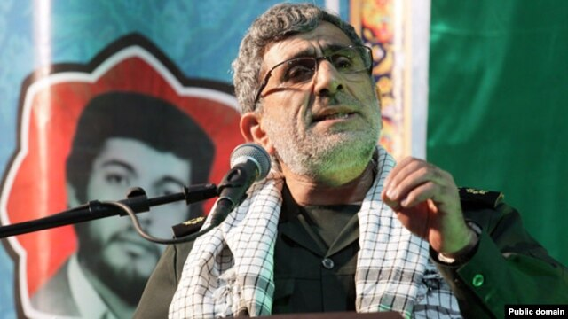 Brigadier General Ismail Ghaani, deputy commander of Iran's Quds Force