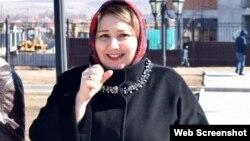 Ингушская активистка Зарифа Саутиева, архивное фото