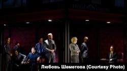 """Сцена из мюзикла """"Шахматы"""". Российская версия 2020 г."""