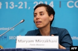 Iran-born mathematician Maryam Mirzakhani died at age 40 in July 2017.