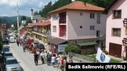 Marš mira u sjećanje na žrtve genocida u Srebrenici, 10.7.2013.
