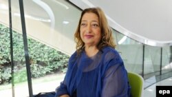 Zaha Hadid in 2013
