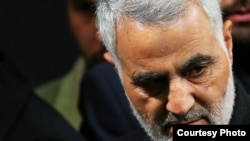 Iran -- Iranian major general and the commander of Revolutionary Guard's Quds Force, Qassem Soleimani, undated.