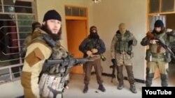 Иракъ -- Аш ШишаниАбу СайфуллахIа къамел деш яьккхинчу видеон сурт.