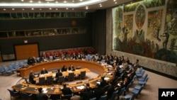 مجلس الأمن الدولي في إحدى جلساته