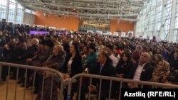 Мәскәүдә Нәүрүз бәйрәменә килгән халык, 2016 ел