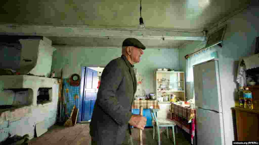 Іван Шамянок у сваім доме