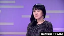 Махабат Турдумаматова.