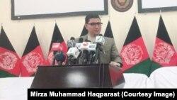 میرزا محمد حقپرست معاون سخنگوی کمیسیون مستقل انتخابات