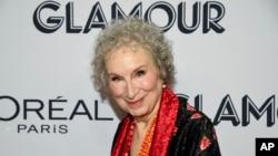 Маргарет Атууд през 2019 г. седмица преди да навърши 80 години