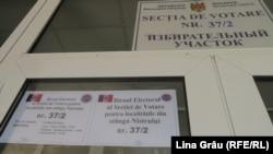 Chișinău, Secția pentru alegătorii din stânga Nistrului de la liceul Gheorghe Asachi,