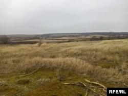 Місце, де знайшли тіло Івана Рєзниченка