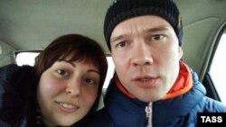 Ильдар Дадин (справа) и Анастасия Зотова (слева)