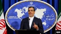 حسین جابر انصاری، سخنگوی وزارت خارجه ایران