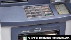 Банкамат, ілюстрацыйнае фота