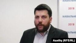 Руководитель избирательного штаба оппозиционера Алексея Навального Леонид Волков