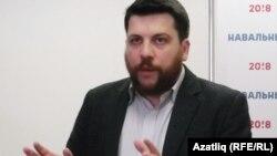 Голова виборчого штабу російського політика Олексія Навального Леонід Волков