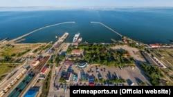 Керченська поромна переправа, архівне фото