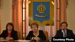 Заседание городской думы в Астрахани