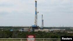Буровая установка в штате Техас. Иллюстративное фото.