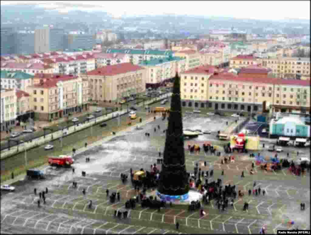 Новый 2013 год в Грозном