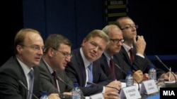 Macedonia - Macedonia-EU Stabilization and Association Council in Brussels - 27Jul2010