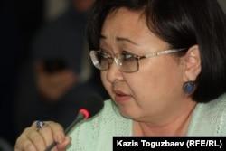 Зубайда Кененбаева, сотрудник психоаналитической ассоциации.