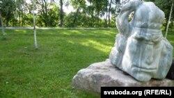 Скульптура на замчышчы, прысьвечаная Машэку