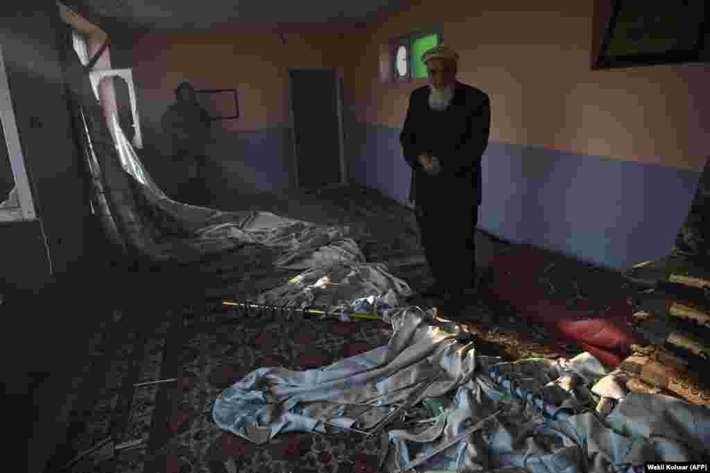 Кабулдағы жарылыстан бірнеше тұрғынның үйіне зақым келген.