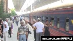 Երևան-Բաթումի գնացք, արխիվ