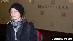 "Активистка ""Солидарности"" Анастасия Рыбаченко"