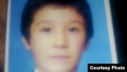 Tajikistan -- Behruz, pupil of the one of the schools in Dushanbe city, who became missing 4 days ago