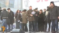 Митинг на Новом Арбате: Вадим Коровин