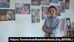 Вікторія Поліщук, фотограф, автор виставки «Обличчя переселенців»