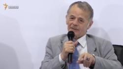 Чубаров и Джемилев анонсировали блокаду админграницы с Крымом (видео)