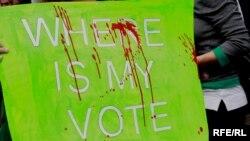 نشانهها و پوسترها در اعتراضات روزهای اخیر