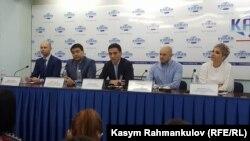 Пресс-конференция Ассоциации операторов связи. Бишкек, 23 января 2018 года.