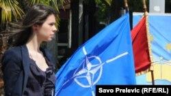 Jedna od kampanja za članstvo u NATO-u, Podgorica, 2011.