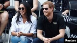 Принц Гарри и Меган Маркл, Торонто, 25 сентября 2017 года