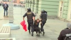 Москва: столкновения на митинге против пенсионной реформы (видео)