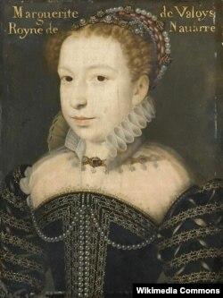 Франсуа Клуэ. Маргарита де Валуа, королева Наваррская. 1572