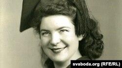 United States--Former Radio Liberty broadcaster Galina Rudnik in her New York City College graduation photo, 1954.