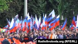 П'ять років тому бойовики на частині Донбасу влаштували незаконний «референдум», після якого і з'явилися угруповання «ДНР» та «ЛНР»