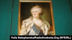 Портрет Катерини ІІ з музею у Дніпрі