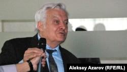 Профессор Борис Степанов. Алматы, 5 мамыр 2014 жыл.