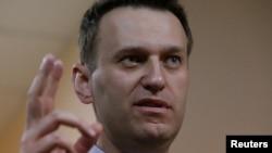 Алексей Навальный на слушаниях по иску Алишера Усманова