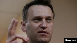 Aleksei Navalnîi la procesul Usmanov